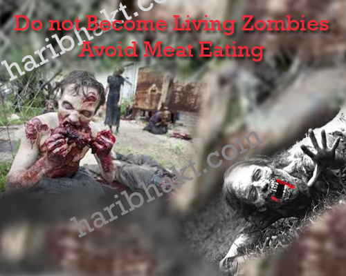 Meat eater muslims are living zombies