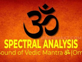 Sound and Spectral Analysis of Vedic Mantra ॐ Om