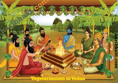 Vedic Rishis are healthy Vegetarian