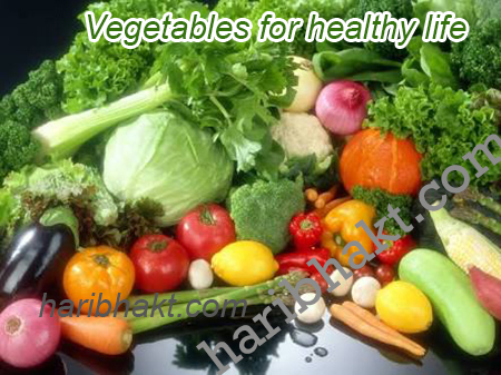 healthy Indians eat vegetables