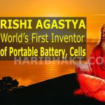 Rishi Agastya Inventor of Portable Electricity, Battery and Cells