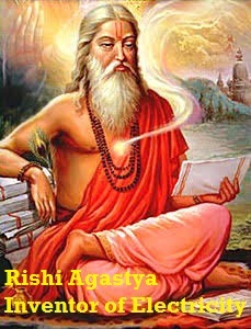 Rishi Agastya inventor of electricity and battery