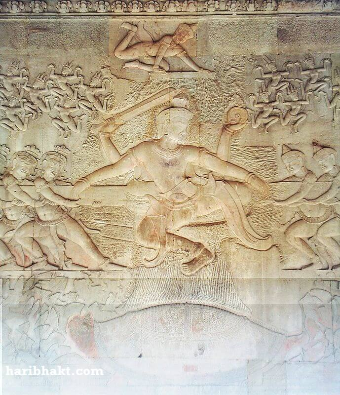 angkor wat samudra manthan churning of ocean milk