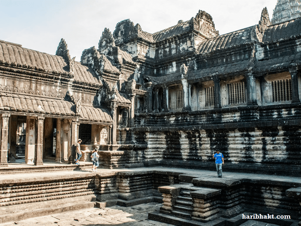 angkor wat Hindu temple inside pictures images