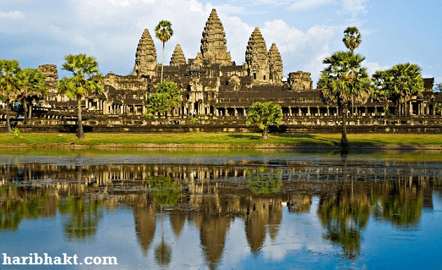 angkor wat hindu temple - facts and history