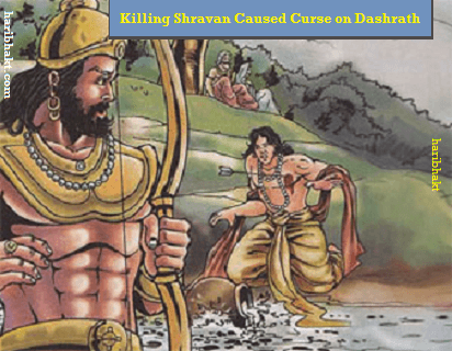 Dashrath was cursed by shravan parents