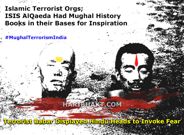 History of islamic terrorism India terrorist babar killing Hindus