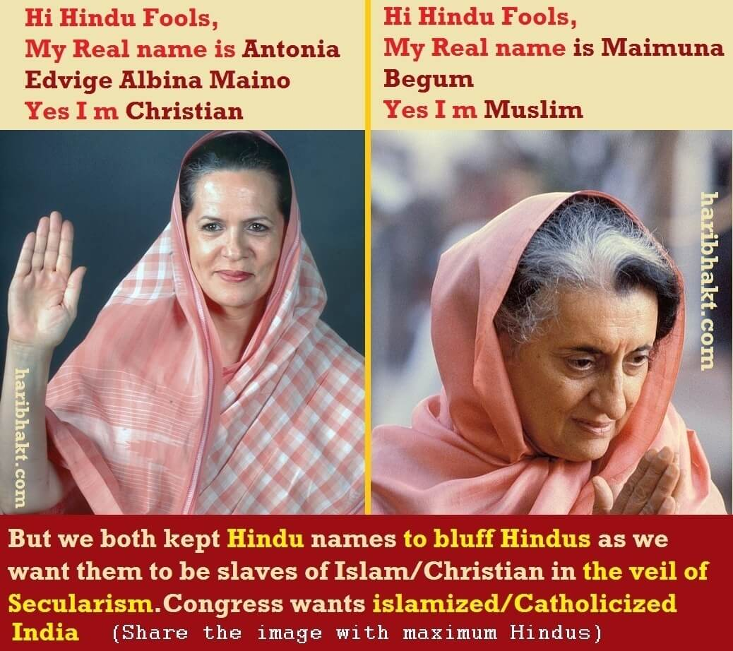congress islamization christianity anti-Hindu terrorism