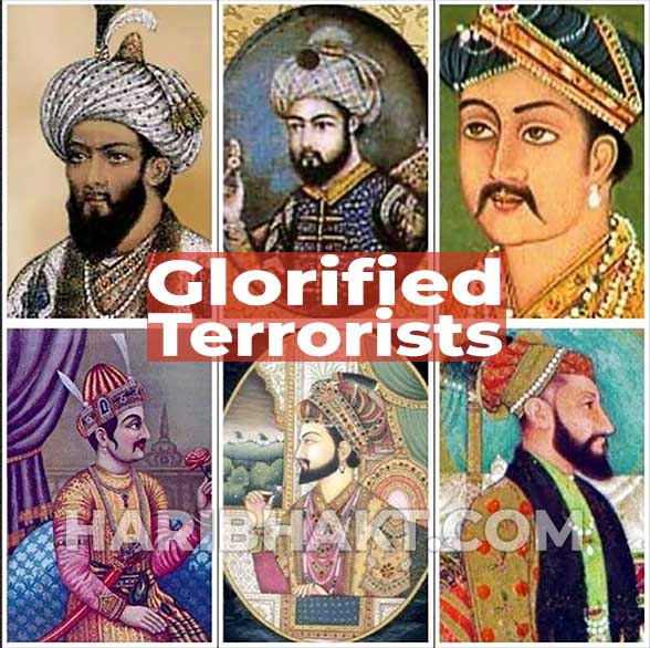 History of islamic terrorism in India and Mughal terrorists of Bharat