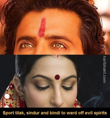 sindur, tilak and bindi to evil eye treatment