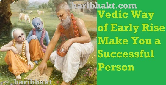 vedic way of life successful person