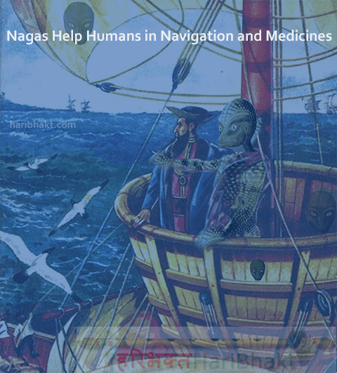 Reptilians Naga Help Humans in Navigation and Medicines