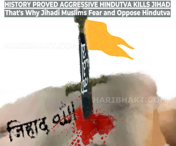 Aggressive Hindutva Kills Jihad and Islamic Terrorism