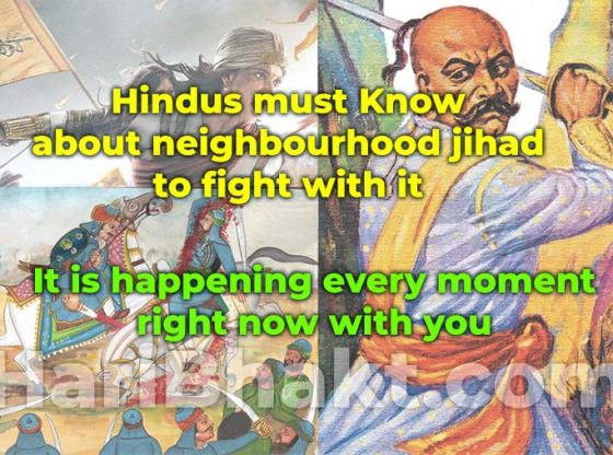 Hindus share spread truth of types of jihad terrorism