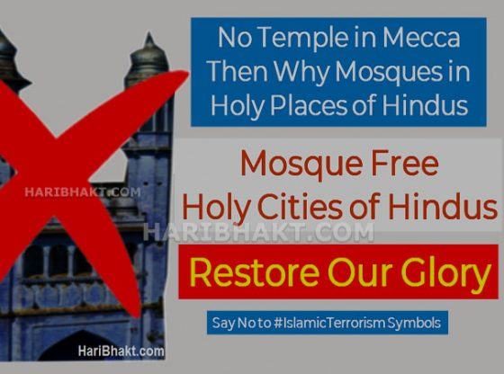 Remove mosques from Holy Places of Hindus