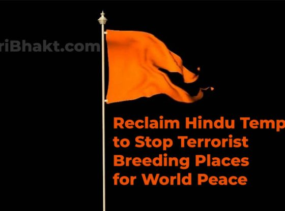 Reclaim Hindus Sikhs Jains Buddhist Temples for World Peace