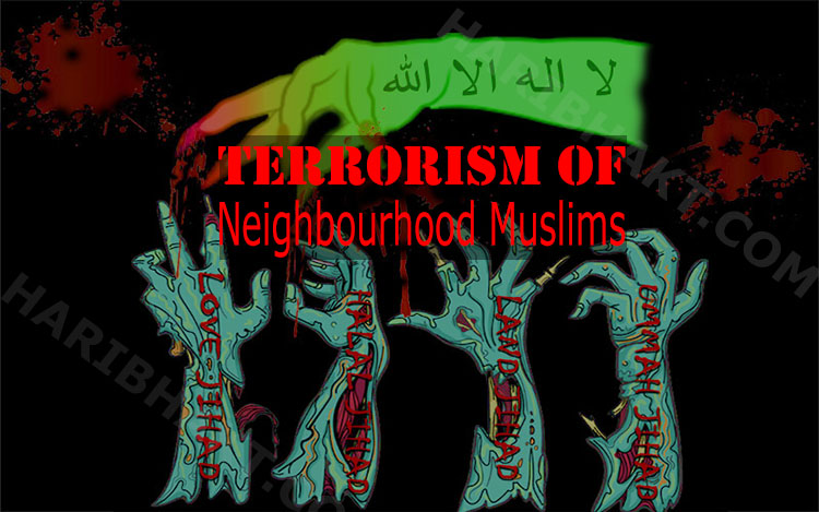Article on all types of islamic terrorism and jihad of neighbourhood muslims
