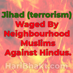 neighbourhood muslim terrorism against Hindu Sikhs
