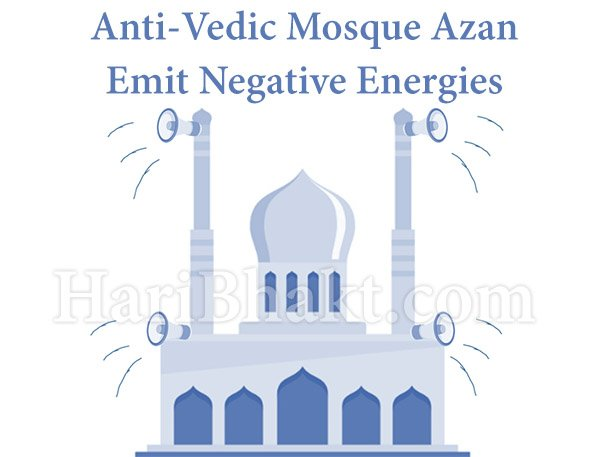 How to control Negative Energy by removing speakers from mosques and destroying masjids