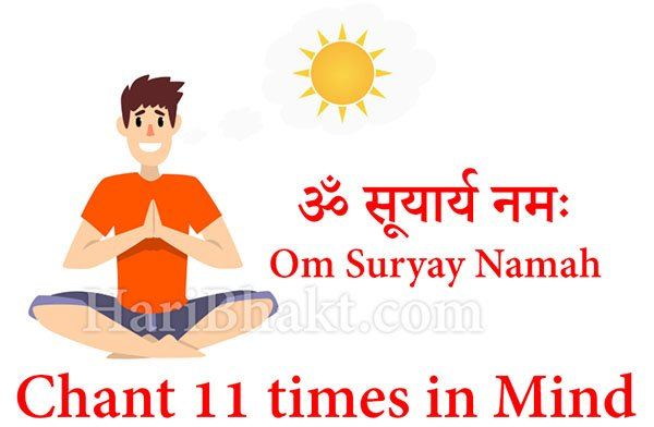 How to tackle Negative Energy with Surya Mantra