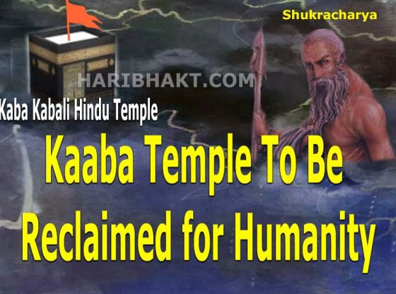Kaaba Temple Should Be Reclaimed for Humanity