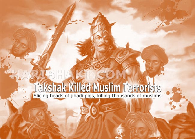 Takshak Hindu warrior killed thousands of muslim terrorists for Sanatan Dharma Kannauj