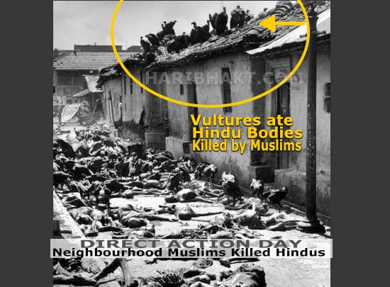 Gopal Patha Revenge muslims killed hindus direction action day